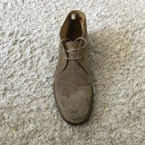 OFFICINE CREATIVE Mens Shoes Brown Suede Boots Wal